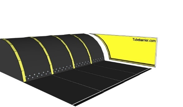 sidewall flood tubebarrier